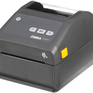 Zebra ZD420d Direct Thermal Desktop Printer 203 dpi Print Width 4 (WiFi, Bluetooth, USB)