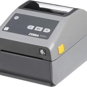 Zebra ZD620d Direct Thermal Desktop Printer 203 dpi Print Width 4 inch (WiFi, Bluetooth, Ethernet, Serial, USB)